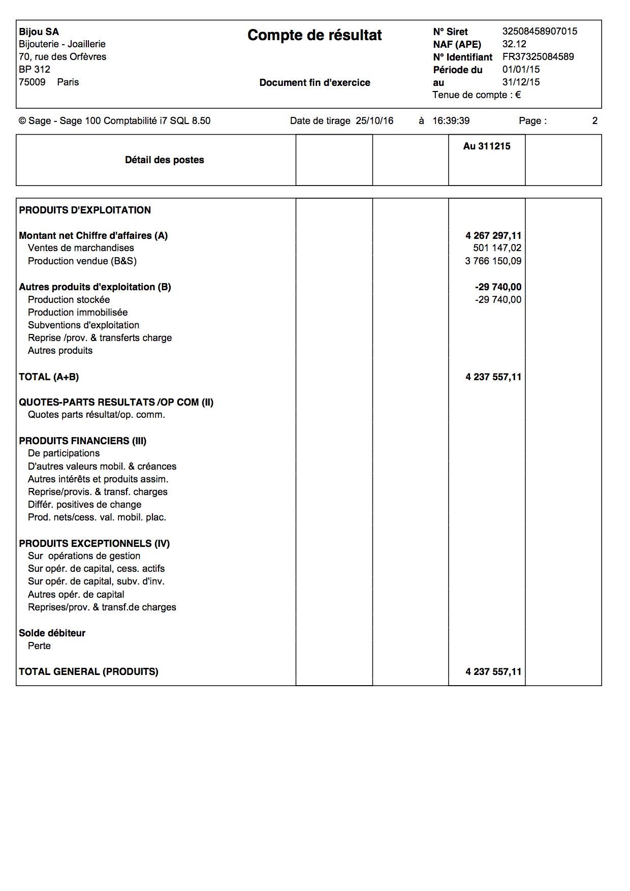 Comment Faire Un Compte De Resultat En 3 Etapes