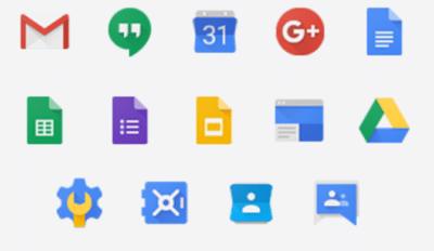 La suite Google Gsuite