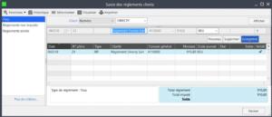 Sage 100cloud Gestion commerciale - Inaltérabilité des règlements clients