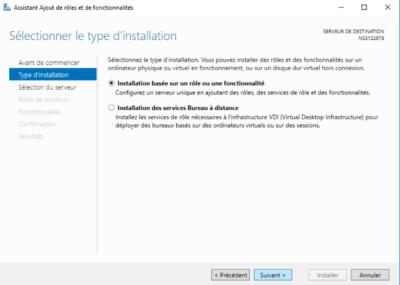 e-fakto - installation #4 installation serveur IIS